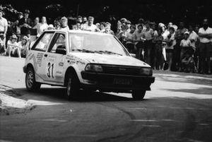 Pentti Huisman, Pekka Laine, Toyota Starlet 1300 EP71