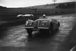 Stirling Moss, Jaguar XK120, Tourist Trophy 1950