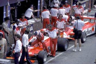 Patrick Depailler, Alfa Romeo 179, Bruno Giacomelli, Alfa Romeo 179