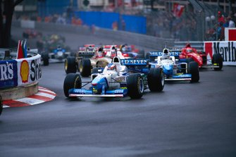 Jean Alesi, Benetton B196, GP di Monaco del 1996