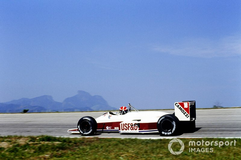 Eddie Cheever, Arrows A10B Megatron