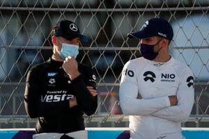 Stoffel Vandoorne, Mercedes Benz EQ e Daniel Abt, NIO 333