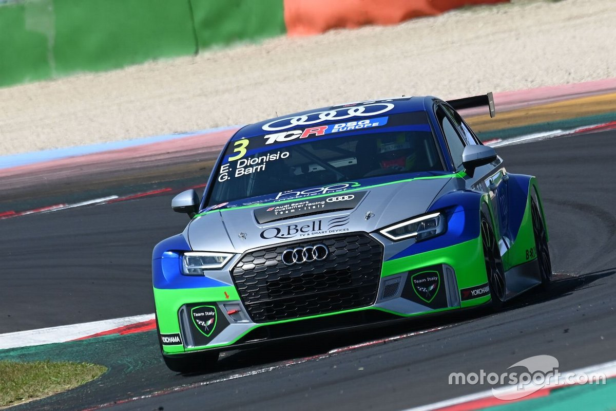 Dionisio Ermanno, Barri Giacomo, Team Italy, Audi RS3 LMS TCR DSG