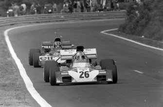 Mike Hailwood, Surtees TS9B Ford, François Cevert, Tyrrell 002 Ford