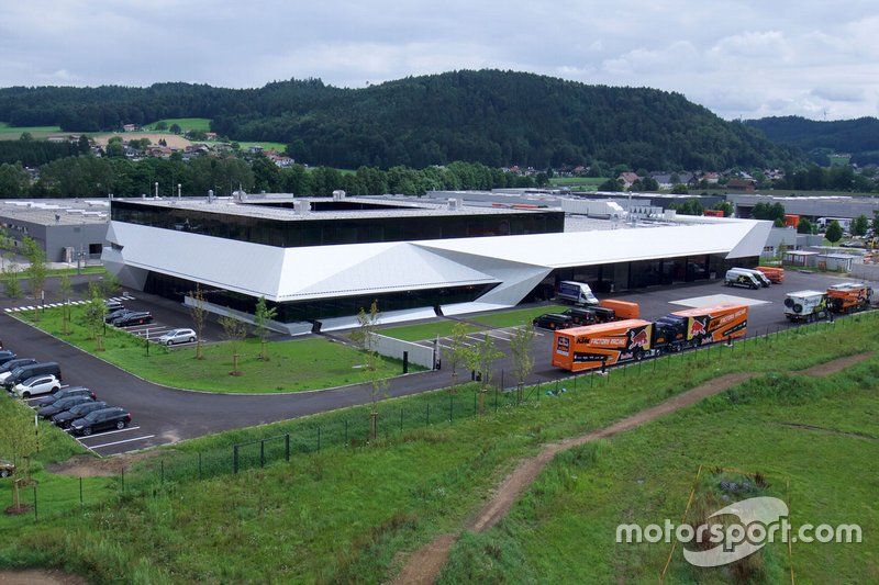 L'usine KTM de Munderfing