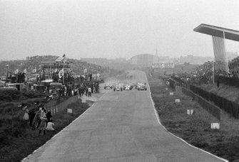 Start zum GP Niederlande 1971 in Zandvoort