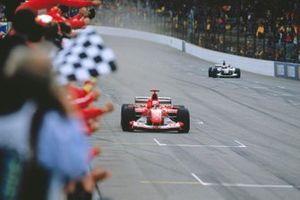 1. Michael Schumacher, Ferrari F2003-GA