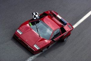A Lamborghini Countach official car
