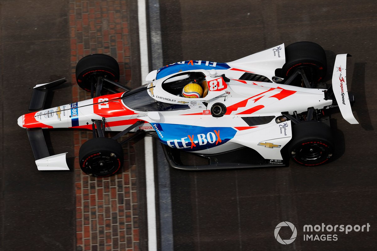 33º Ben Hanley, DragonSpeed USA – Chevrolet