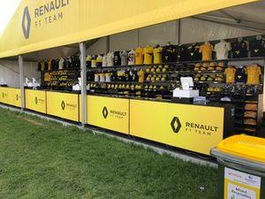 Merchandise-stands in Melbourne