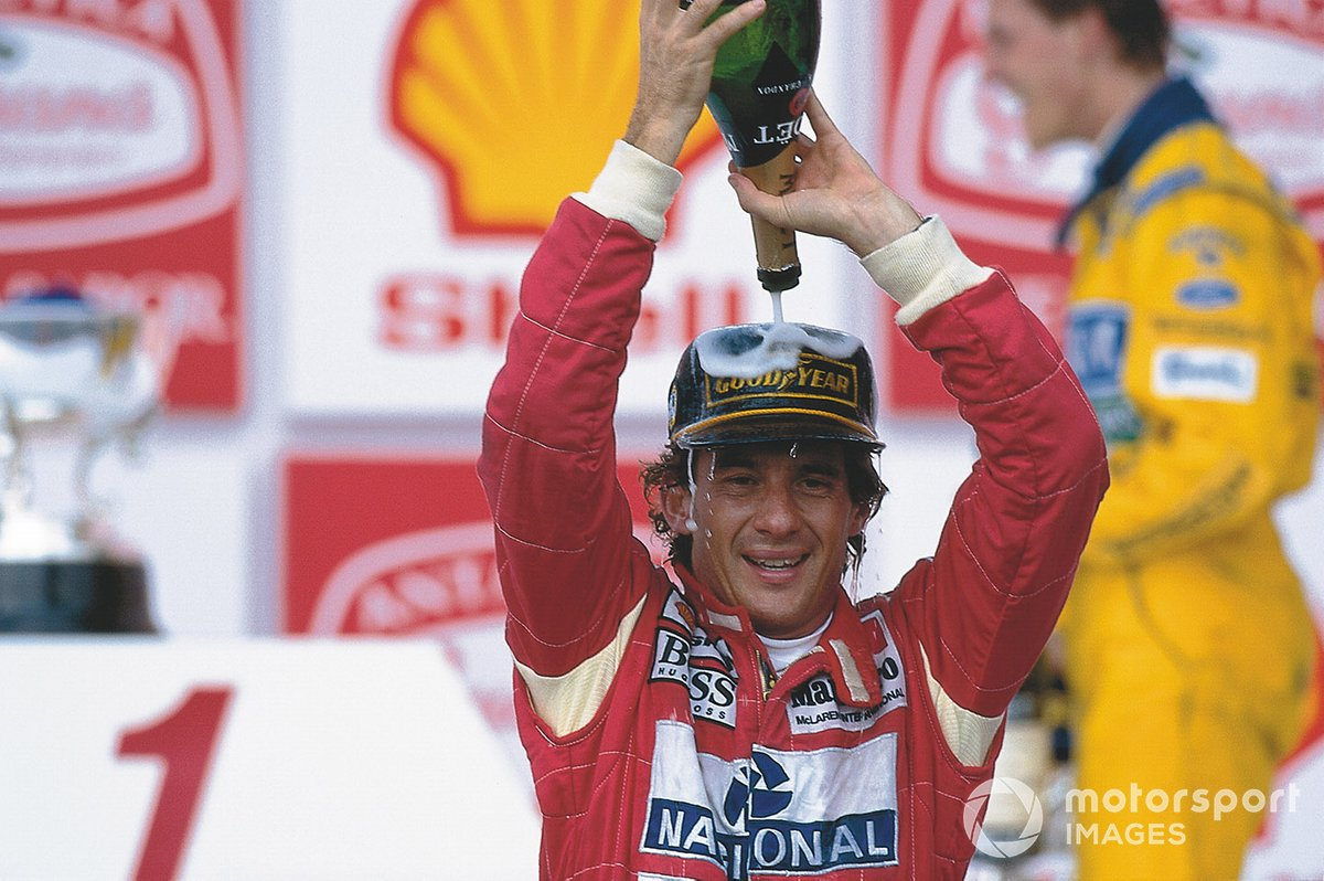 Victorias: Ayrton Senna 25%
