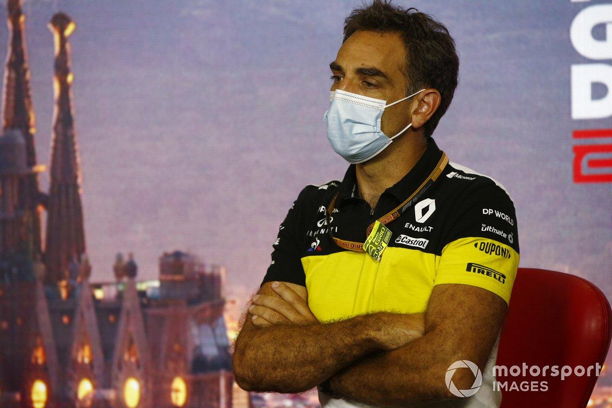Cyril Abiteboul, Director General del equipo Renault F1