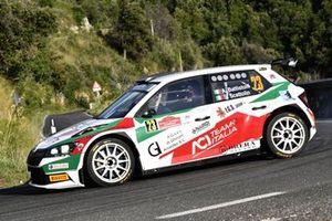 Alberto Battistolli, Simone Scattolin, CR Motorsport, Skoda Fabia R5