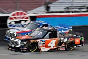 Raphael Lessard, Kyle Busch Motorsports, Toyota Tundra JBL and Austin Hill, Hattori Racing Enterprises, Toyota Tundra United Rentals