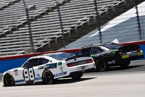 Chase Briscoe, Stewart-Haas Racing, Ford Mustang Ford Performance Racing School and Riley Herbst, Joe Gibbs Racing, Toyota Supra Monster Energy