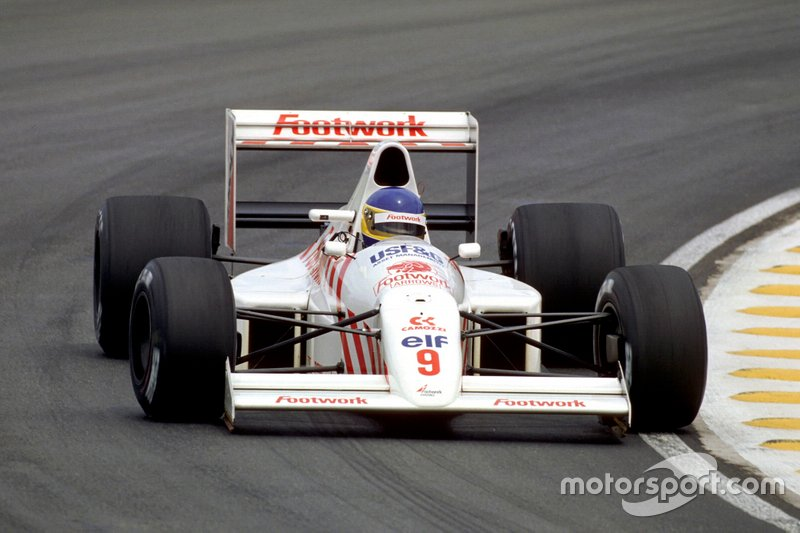 #9: Michele Alboreto (Arrows)