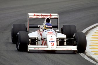 Michele Alboreto, Arrows A11B Ford, al GP di Brasile del 1990