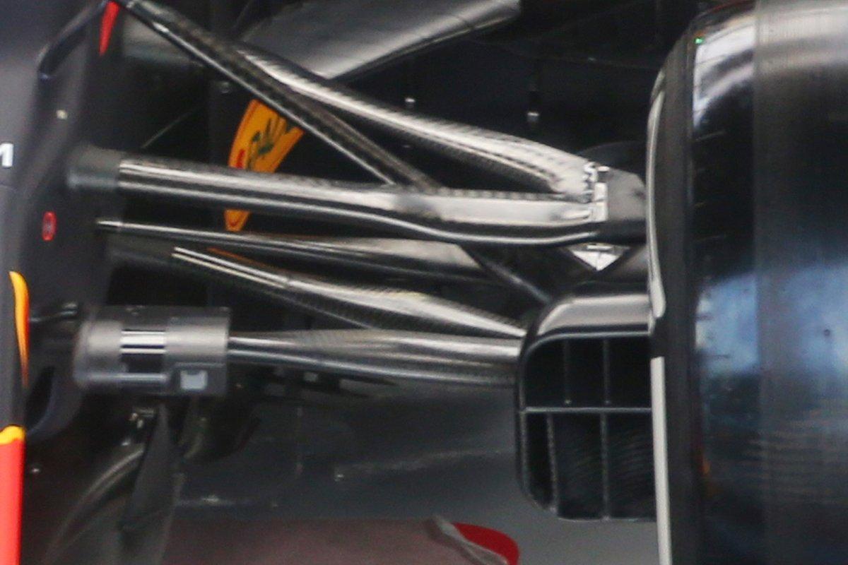 Red Bull RB16: Vorderradaufhängung