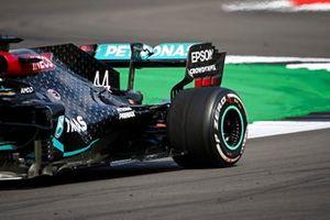Arrière de Lewis Hamilton, Mercedes F1 W11