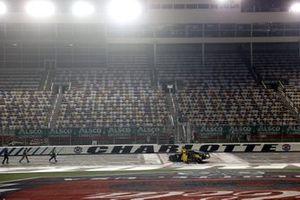 Race winner Kyle Busch, Joe Gibbs Racing Toyota App State Class of 2020