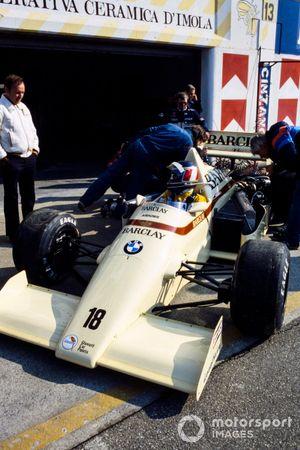 Gerhard Berger, Arrows A8 BMW