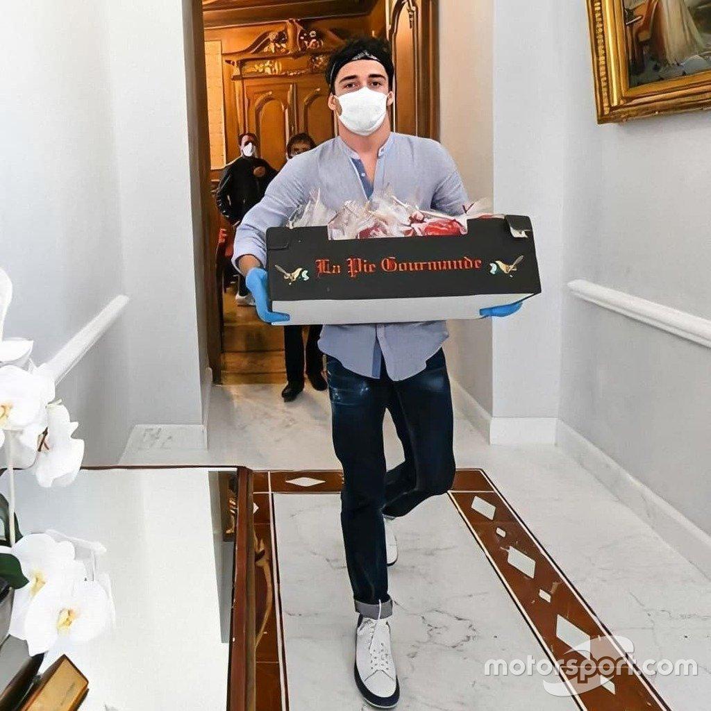 Leclerc contro il coronavirus