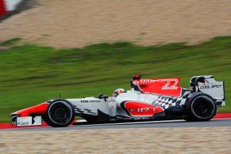 Daniel Ricciardo, HRT Formula One Team HRT F111, GP di Germania del 2011