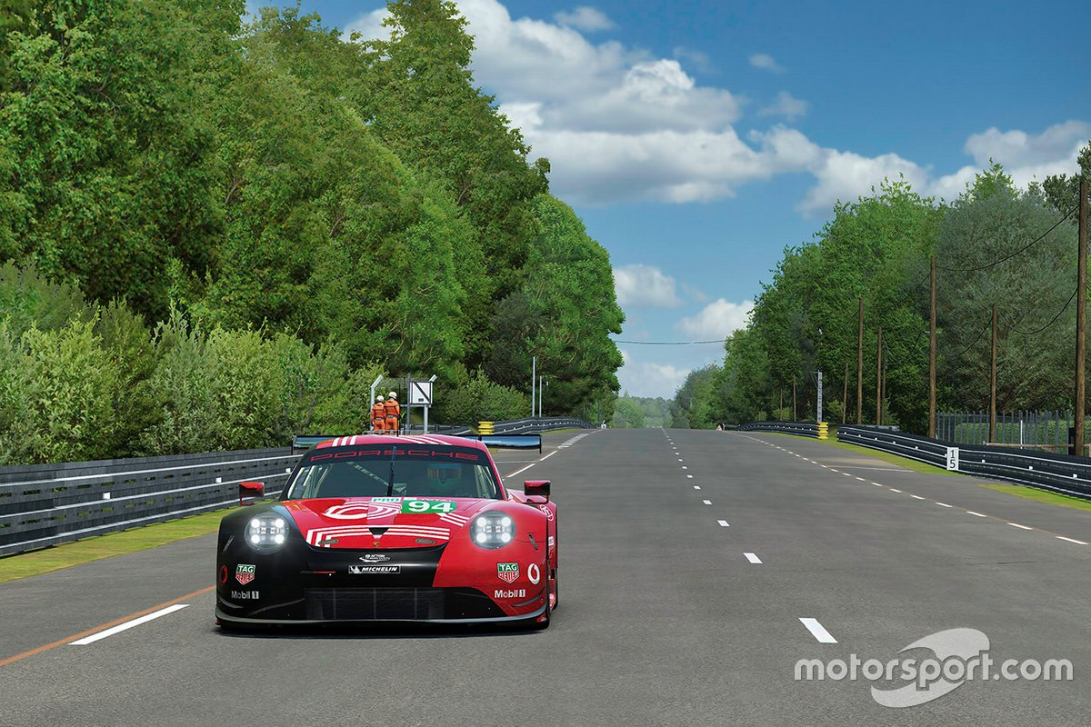 #94 Porsche Esports Team Porsche 911 RSR: Patrick Pilet, Simona De Silvestro, Martin Krönke, David Williams