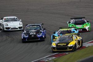 #128 Audi R8 LMS GT4: Niklas Kry, Carrie Schreiner, Henrik Bollerslev