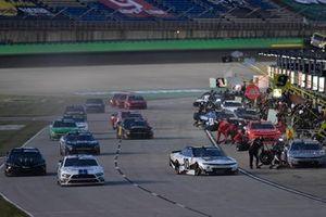 Chase Briscoe, Stewart-Haas Racing, Ford Mustang Ford Performance Racing School, Ross Chastain, Kaulig Racing, Chevrolet Camaro Chevy Accessories, Riley Herbst, Joe Gibbs Racing, Toyota Supra Monster Energy