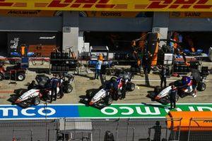 Niko Kari, Charouz Racing System, Igor Fraga, Charouz Racing System et David Schumacher, Charouz Racing System