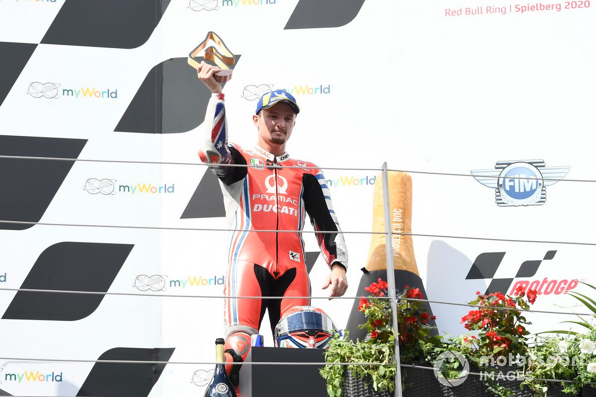 Podio: tercero Jack Miller, Pramac Racing
