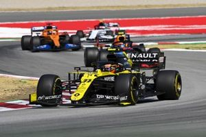 Esteban Ocon, Renault F1 Team R.S.20, Alex Albon, Red Bull Racing RB16, Carlos Sainz Jr., McLaren MCL35, Pierre Gasly, AlphaTauri AT01