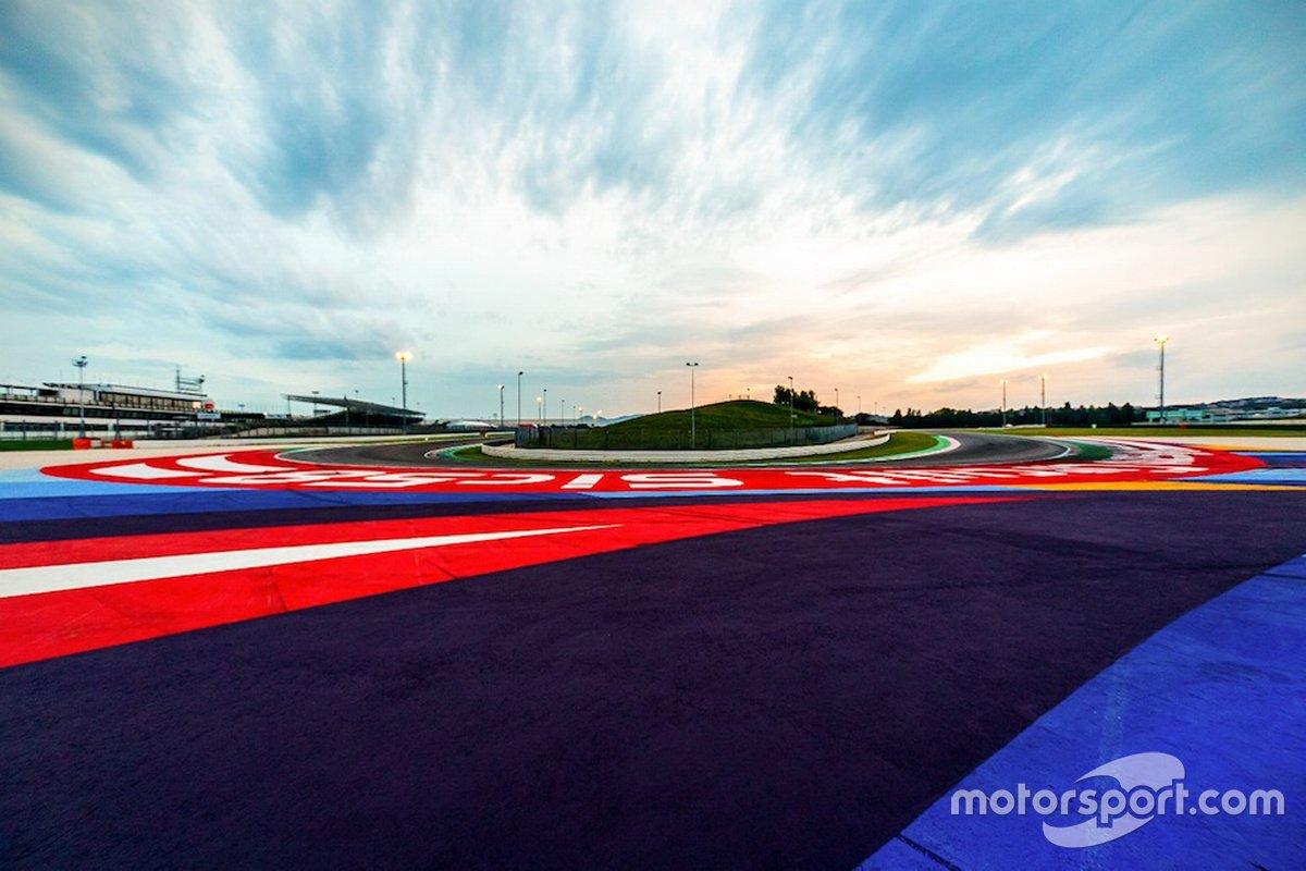 Lavori al Misano World Circuit Marco Simoncelli