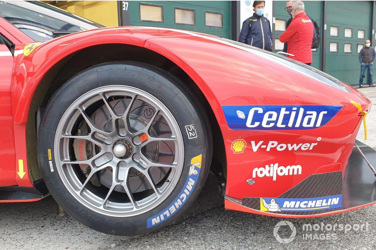 Dettagli della Ferrari 488 GTE Evo