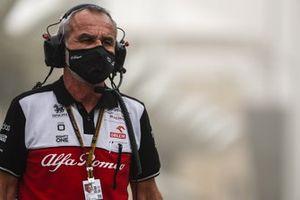 Beat Zehnder, director del equipo Alfa Romeo Racing