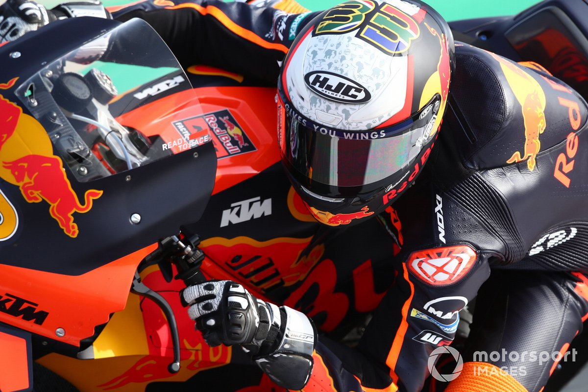 17º Brad Binder, Red Bull KTM Factory Racing - 1:54.691