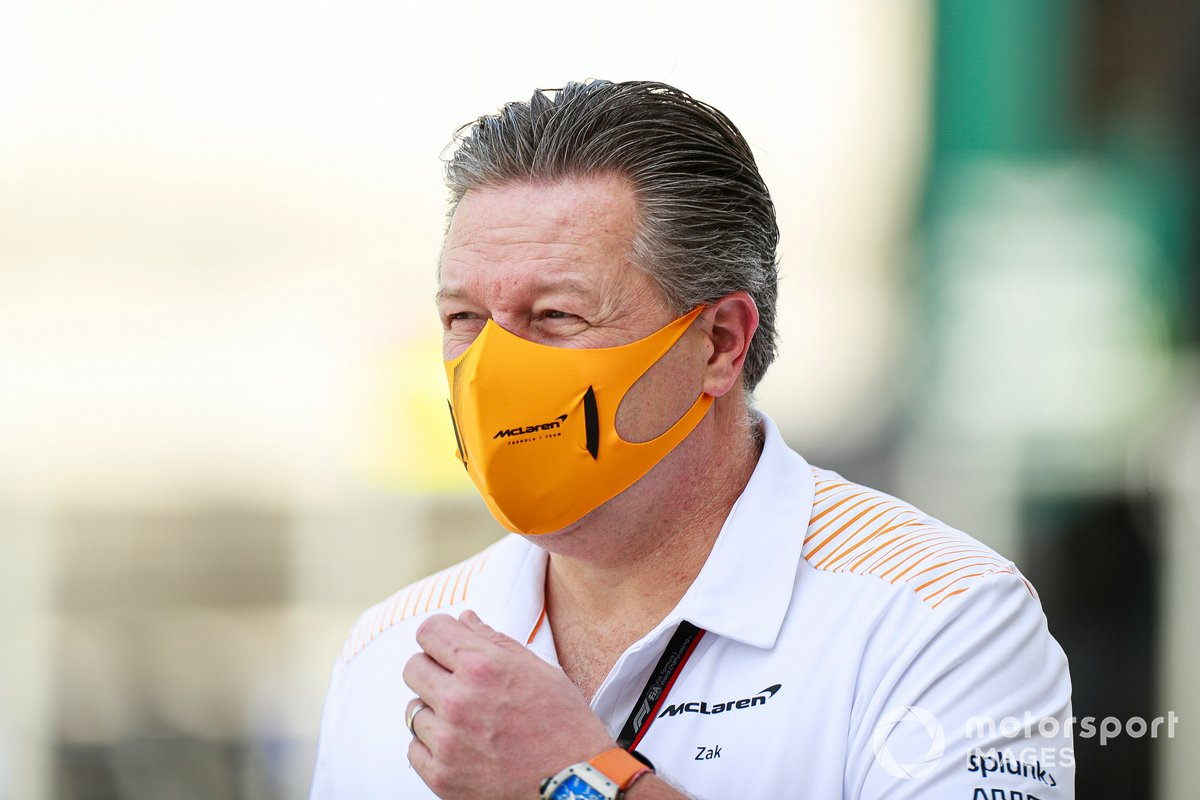 Зак Браун, глава McLaren Racing