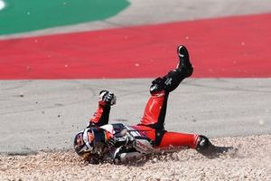 Johann Zarco, Pramac Racing crash