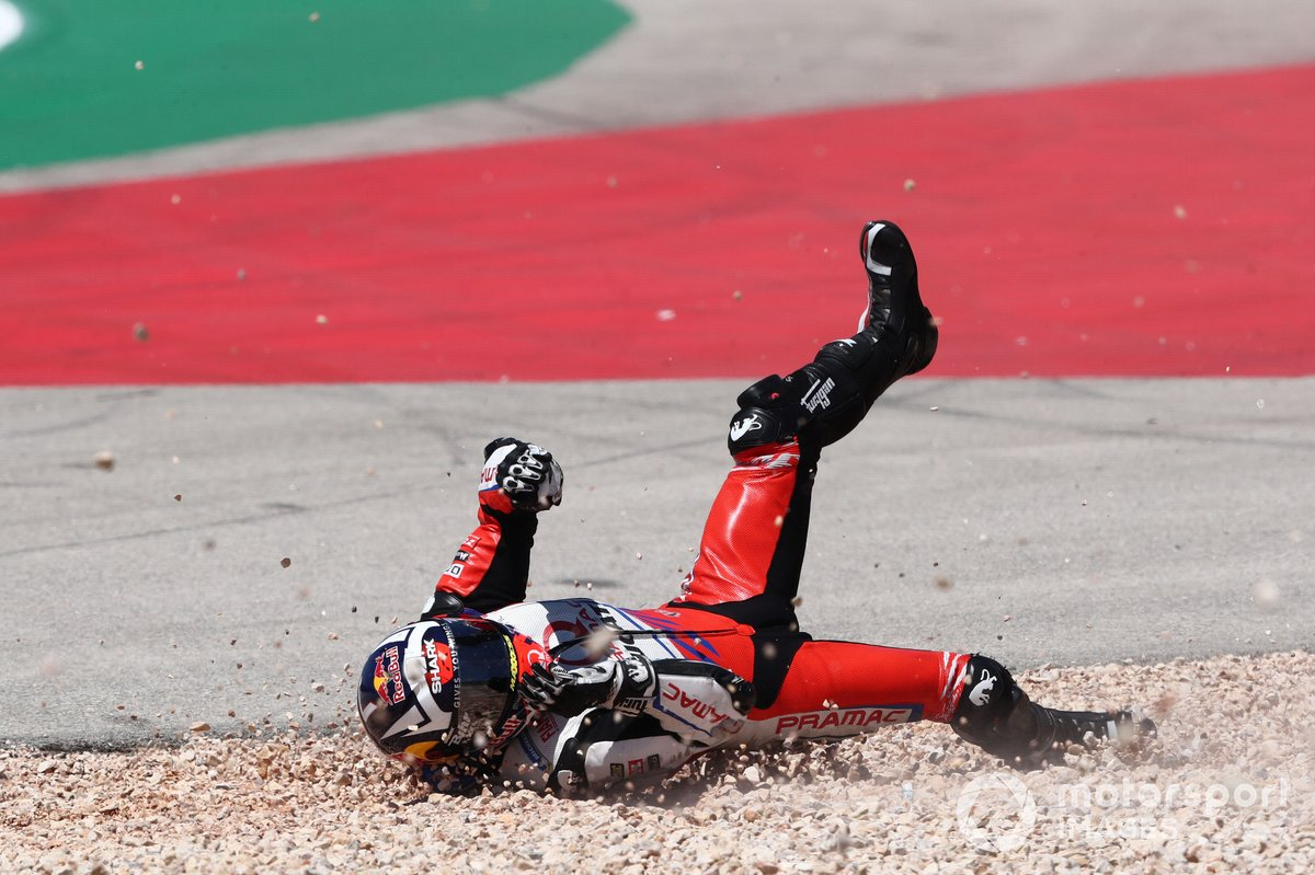Incidente di Johann Zarco, Pramac Racing