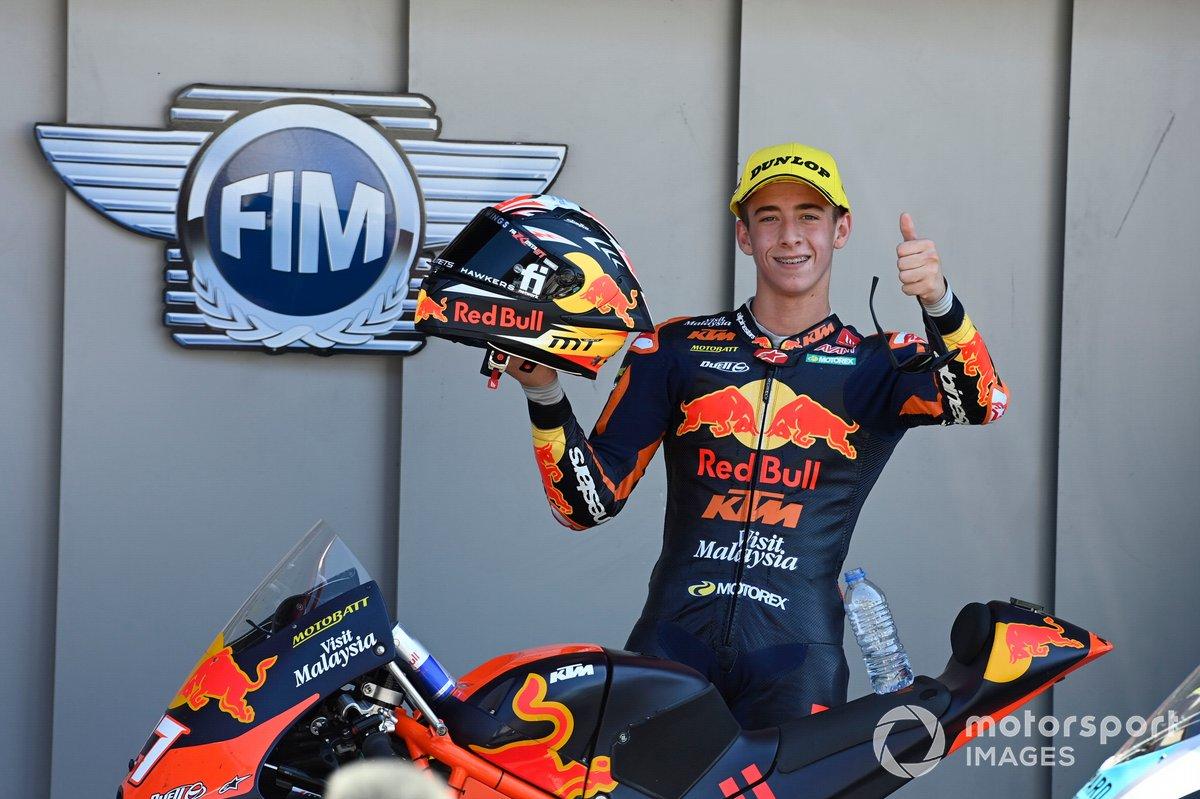 Ganador Pedro Acosta, Red Bull KTM Ajo