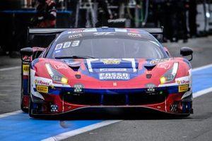 #72 SMP Racing Ferrari 488 GT3: Toni Vilander, Antonio Fuoco, Sergey Sirotkin