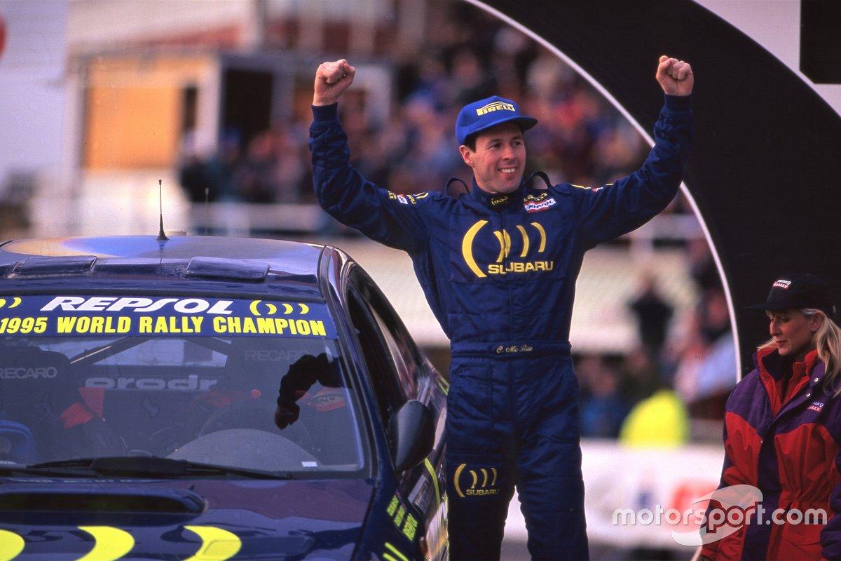 Colin McRae, Subaru Impreza 555