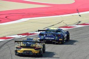 #46 Kessel Racing Monster VR46, Ferrari 488 GT3: Valentino Rossi, Alessio Salucci, Luca Marini, #67 Dinamic Motorsport, Porsche 911 GT3R: Roberto Pampinini, Mauro Calamia, Stefano Monaco