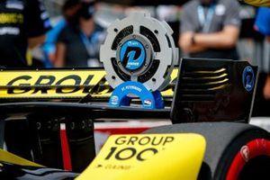 Polesitter Colton Herta, Andretti Autosport Honda