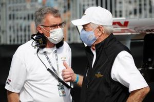 Paul Ray of Ilmor, Roger Penske, Team Penske Chevrolet