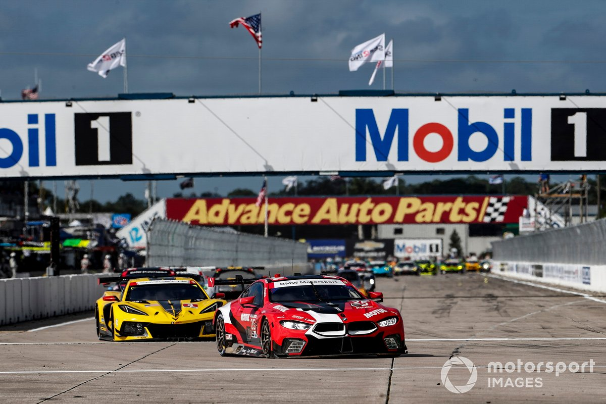 #25 BMW Team RLL BMW M8 GTE, GTLM: Connor De Phillippi, Bruno Spengler, Colton Herta , #3 Corvette Racing Corvette C8.R, GTLM: Antonio Garcia, Jordan Taylor, Nicky Catsburg