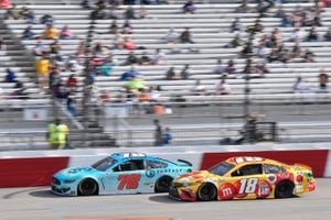 B.J. McLeod, Live Fast Motorsports, Ford Mustang, Kyle Busch, Joe Gibbs Racing, Toyota Camry M&M's Red Nose Day
