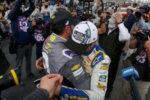 NASCAR Cup-Champion 2020: Chase Elliott, Hendrick Motorsports, mit Jimmie Johnson, Hendrick Motorsports