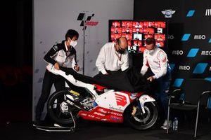 Alberto Puig, Talent Promotion Director, Carmelo Ezpeleta, CEO Dorna Sports, Hiroshi Aoyama, ATC Talent Scout